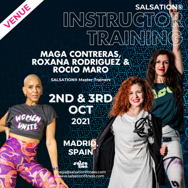 Picture of SALSATION Instructor training with Maga, Roxana and Rocio, Venue, Spain, 02 Oct 2021 - 03 Oct 2021
