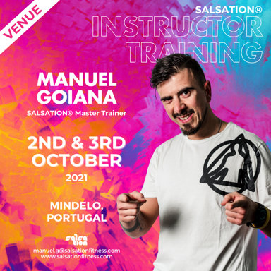 Picture of SALSATION Instructor training with Manuel, Venue, Portugal, 02 Oct 2021 - 03 Oct 2021