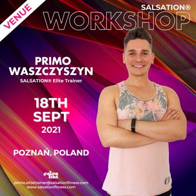 Picture of SALSATION Workshop with Primo, Venue, Poznan, Poland, 18 Sep 2021