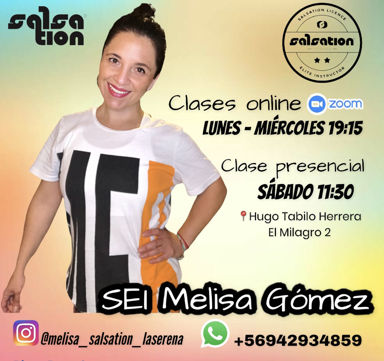 Picture of SALSATION® class with Melisa Gomez, Wednesday, 19:00