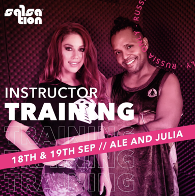 Picture of SALSATION Instructor training with Alejandro & Julia, Online, Russia Only, 18 Sep 2021 - 19 Sep 2021