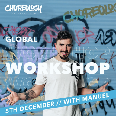 Picture of CHOREOLOGY Workshop with Manuel, Online, GLOBAL, 05 Dec 2021