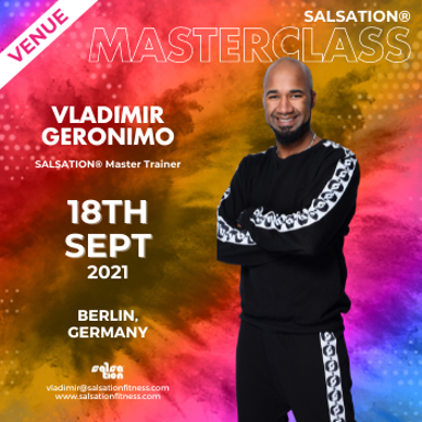 Picture of SALSATION® Masterclass with Vladimir Gerónimo, Saturday, 11:00