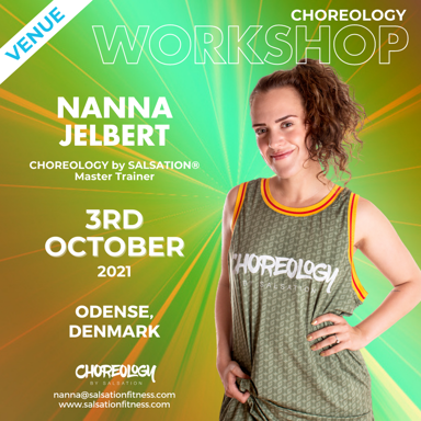 Picture of CHOREOLOGY Workshop with Nanna, Venue, Odense, Denmark, 03 Oct 2021