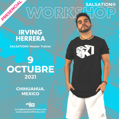 Picture of SALSATION Workshop with Irving, Venue, Chihuahua, Mexico, 09 Oct 2021