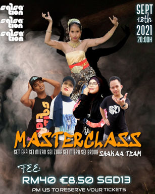 Picture of SALSATION® Masterclass with Eka Yahya, Saturday, 20:00