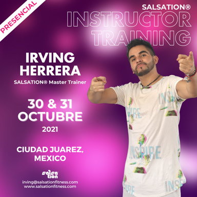 Picture of SALSATION Instructor training with Irving, Venue, Mexico, 30 Oct 2021 - 31 Oct 2021