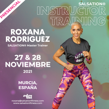 Picture of SALSATION Instructor training with Roxana, Venue, Spain, 27 Nov 2021 - 28 Nov 2021