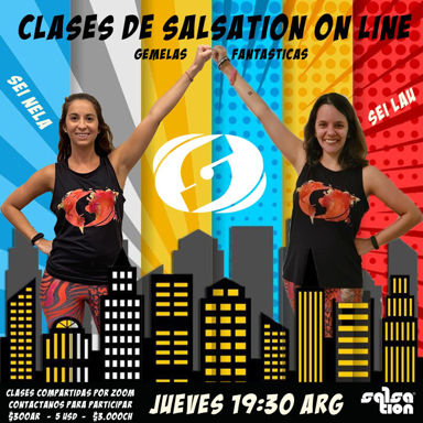 Picture of SALSATION® class with Laura Cecos, Thursday, 19:30