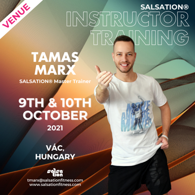 Picture of SALSATION Instructor training with Tamas, Venue, Hungary, 09 Oct 2021 - 10 Oct 2021