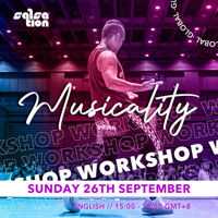 Picture of Musicality Workshop with Alejandro, Global - ASIA, 26 Sep 2021