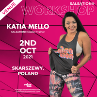 Picture of SALSATION Workshop with Katia, Venue, Poland, 02 Oct 2021