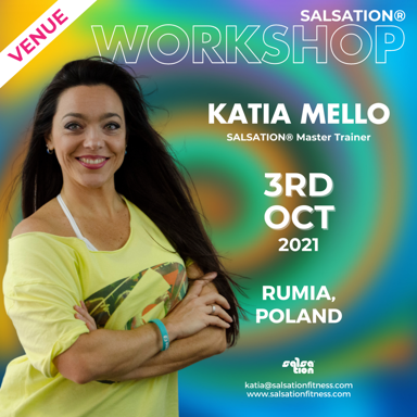 Picture of SALSATION Workshop with Katia, Venue, Poland, 03 Oct 2021