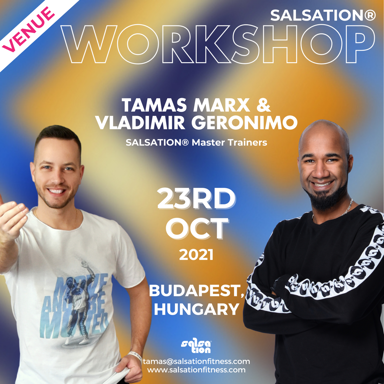 Picture of SALSATION Workshop with Tamas and Vladimir, Venue, Hungary, 23 Oct 2021