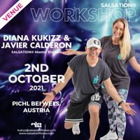 Picture of SALSATION Workshop with Kukizz and Javier, Venue, Austria, 02 Oct 2021