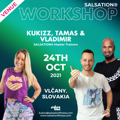 Picture of SALSATION Workshop with Kukizz, Tamas and Vladimir, Venue, Slovakia, 24 Oct 2021