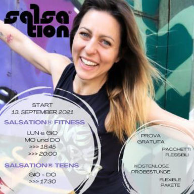 Picture of SALSATION® class with Martina Gallo, Thursday, 20:00