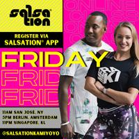 Picture of SALSATION® class with Kamila Wierzyńska, Friday, 17:00