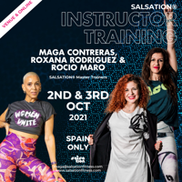 Picture of SALSATION Instructor training with Maga, Roxana & Rocio, ONLINE, Spain, 02 Oct 2021 - 03 Oct 2021
