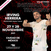 Picture of SALSATION Instructor training with Irving, Venue, Mexico, 27 Nov 2021 - 28 Nov 2021