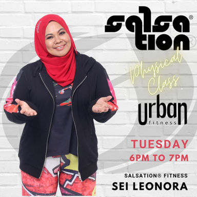 Picture of SALSATION® class with Sharifah Leonora Yuhannees Syed Halim, Tuesday, 18:00