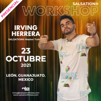 Picture of SALSATION Workshop with Irving, Venue, Mexico, 23 Oct 2021