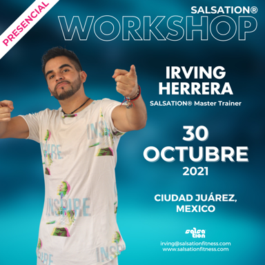 Picture of SALSATION Workshop with Irving, Venue, Mexico, 30 Oct 2021
