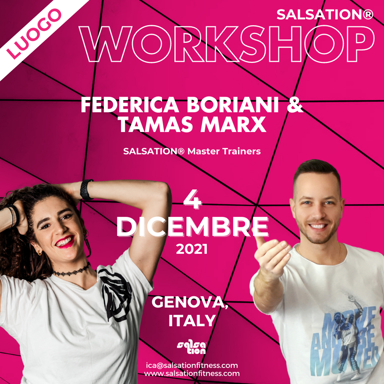 Picture of SALSATION Workshop with Ica & Tamas, Venue, Italy, 04 Dec 2021