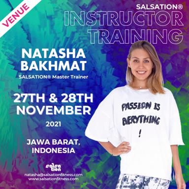 Picture of SALSATION Instructor training with Natasha, Venue, Indonesia, 27 Nov 2021 - 28 Nov 2021