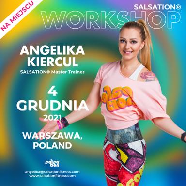 Picture of SALSATION Workshop with Angelika, Venue, Poland, 04 Dec 2021