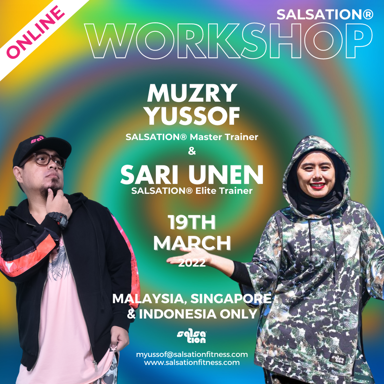 Picture of SALSATION Workshop with Muzry & Sari, Online, Malaysia, Singapore & Indonesia, 19 Mar 2022