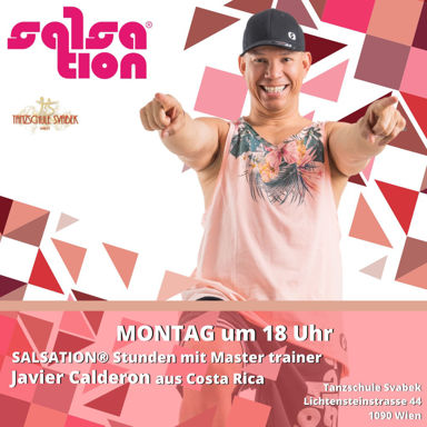 Picture of SALSATION® class with Javier Calderon, Monday, 18:00