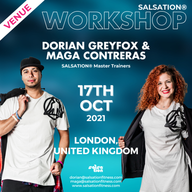 Picture of SALSATION, Workshop with Dorian and Maga, Venue, London, 17 Oct 2021