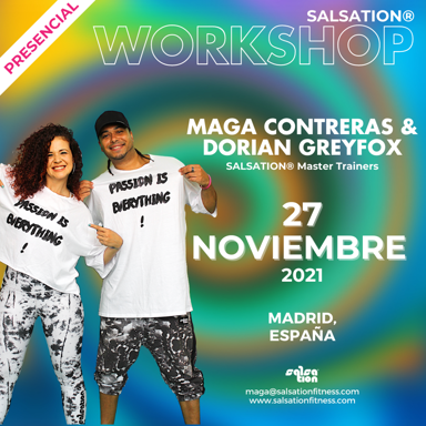 Picture of SALSATION Workshop with Maga and Dorian, Madrid, Spain, 27 Nov 2021