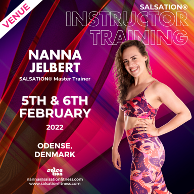 Picture of SALSATION Instructor training with Nanna, Venue, Denmark, 05 Feb 2022 - 06 Feb 2022