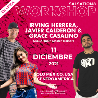 Picture of SALSATION, Workshop with Irving, Javier and Grace, Online, Mexico, USA & Central America, 11 Dec 2021